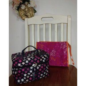 Handbags - Lancôme Pouch and Stars Makeup Bag Bundle